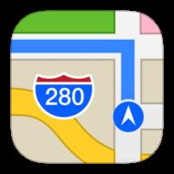 Apple Maps logo