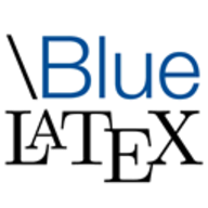 \Bluelatex logo