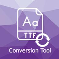 RoxyApps Font Conversion Tool logo