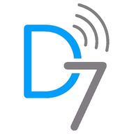 D7SMS logo