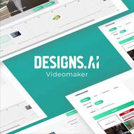 Videomaker by Designs.ai logo