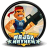 Major Mayhem logo