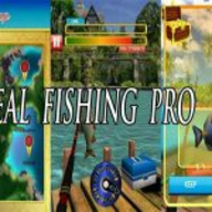 Real Fishing Pro 3D logo