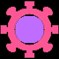 Coronavirus 3d logo