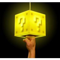 Question Block Lamp logo