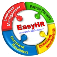 EasyHR by DelicateSoft logo