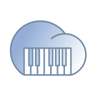 Cloud Piano logo