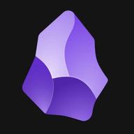 Obsidian.md logo