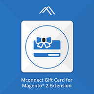 Mconnect Gift Card Certificate Extension logo