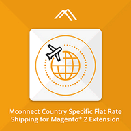 Mconnect Shipping per Country Extension logo