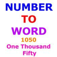 Number to Word Converter logo