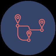 PathRoute.io logo
