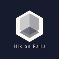 Hix on Rails logo