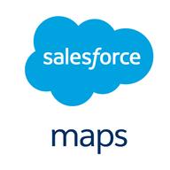 Salesforce Maps logo