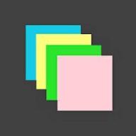 Sticky Notes Widget + logo