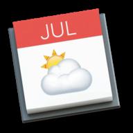 Weather in your Calendar logo