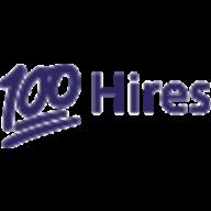 100Hires logo