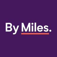 By Miles logo