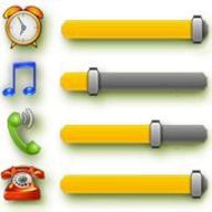 A-Volume Widget logo
