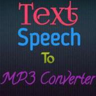 Text/Speech To Mp3 Converter logo