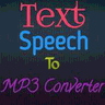 Text/Speech To Mp3 Converter logo