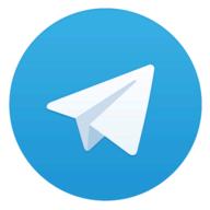Telegram X logo