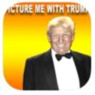 Picture me With Donald Trump logo