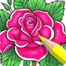 Coloring Book for Adults logo