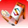Watercolors Painting logo