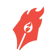 Flaming Text logo