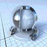 FluidRay RT logo