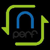 nPerf logo