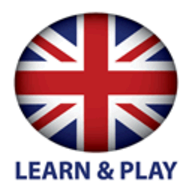 Learn and play English logo