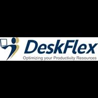 DeskFlex Room Scheduling logo