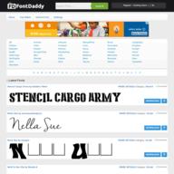 FontDaddy.com logo