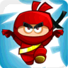 redprawngames.com Ninja Climbing logo