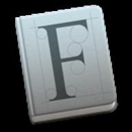 Font Book logo