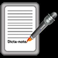 Dictanote logo