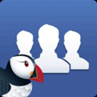 Puffin for Facebook logo