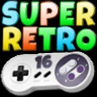SuperRetro16 logo