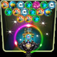 Bubble Shooter Mania HD logo