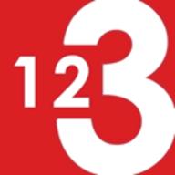 123 Watermark logo