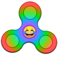 Virtual Fidget Spinner logo