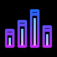 HackerMetrics logo