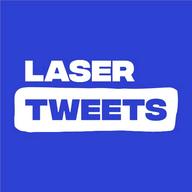 Laser Tweets logo
