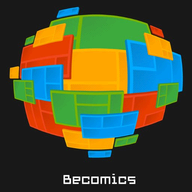 Becomics logo