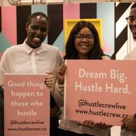 Dream Big. Hustle Hard. logo