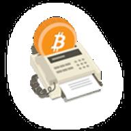 Bitcoin Fax logo