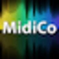 MidiCo Karaoke logo