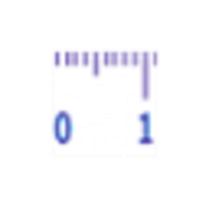 Virtual ruler cm logo